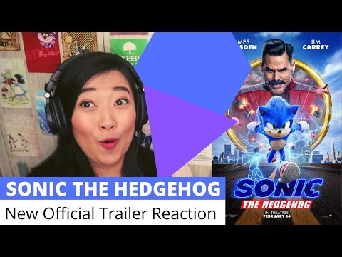 [English] THE SONIC I KNEW || Sonic The Hedgehog New Official Trailer Reaction #Sonic