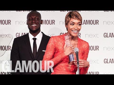 Jourdan Dunn: I'm a Hot Mess But I'm a BOSS | Glamour Women of The Year Awards 2017