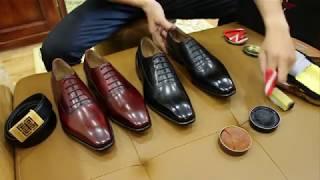Cách vệ sinh giày Tây nhanh chóng tại nhà