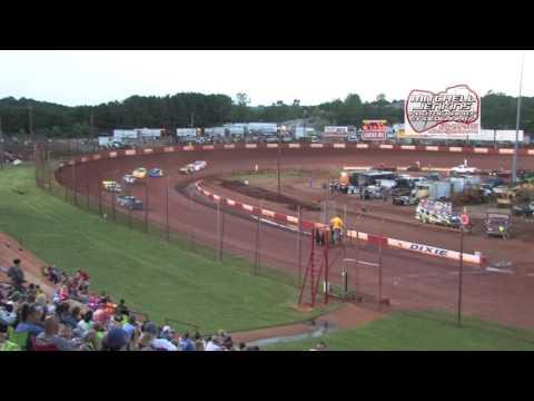 Dixie Speedway 6/24/17 Rainout Super Bomber Heats 1&2!