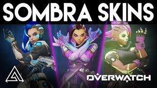 Overwatch | All Sombra Skins & Customisation Options