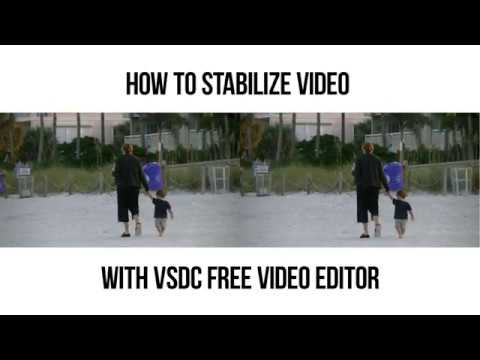 How to stabilize video with VSDC