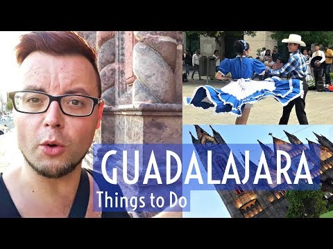 GUADALAJARA Things to DO | MEXICO TRAVEL | Tortas AHOGADAS, MEXICAN ART & GUADALAJARA CATHEDRAL