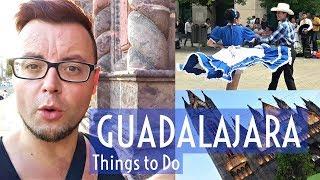 GUADALAJARA Things to DO | MEXICO TRAVEL | Tortas AHOGADAS, MEXICAN ART & GUADALAJARA CATHEDRAL