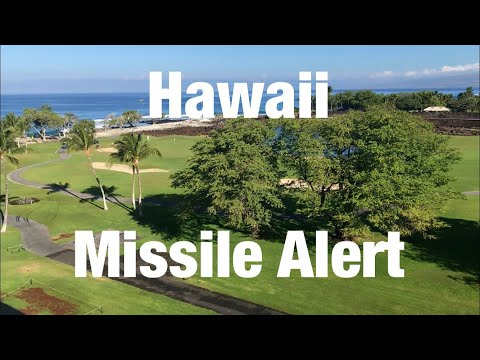 My Hawaii holiday so far...Missiles and meaningful texts