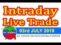 INTRADAY LIVE TRADE FOR 27TH JAN 2020