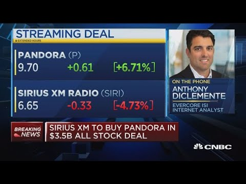 SiriusXM has gotten to know Pandora very well since initial investment, says internet analyst