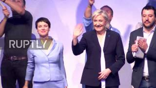 Germany  Salvini and Petry call for 'national sovereignty' at 'Freedom for Europe' congress