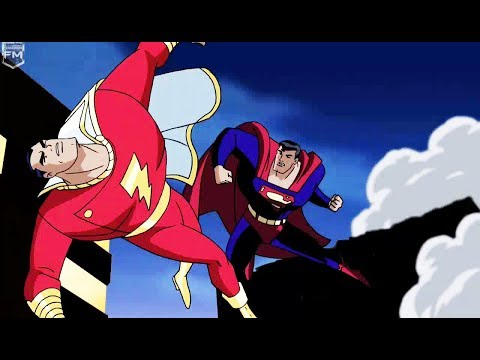 Superman vs Shazam | Justice League Unlimited