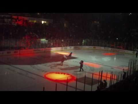 Charlotte Checkers Home AHL Debut  Introduction, 10/15/10