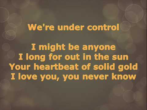 Under Control - Calvin Harris and Alesso (WITH LYRICS ON SCREEN)