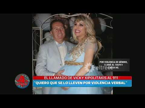 Vicky Xipolitakis llamó al 911 para denunciar a su pareja por violencia de género