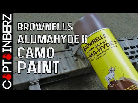 Aluma-Hyde II Enamel Camo Spray Paint (Rifle/Pistol/Guns) by Brownells