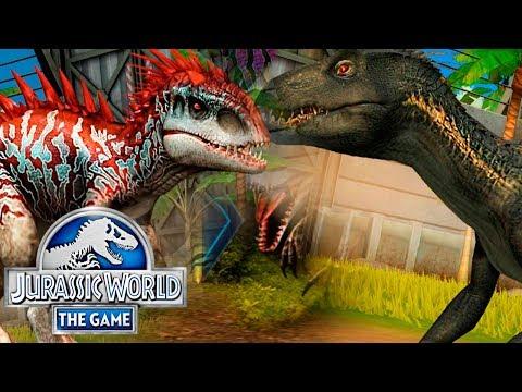 Выводим ИНДОМИНУСА и ИНДОРАПТОРА - Jurassic World The Game #221
