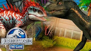 Выводим ИНДОМИНУСА и ИНДОРАПТОРА - Jurassic World The Game #221