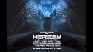 Retarded Journey presents Heresy Label Night Austria Promomix by Hardez