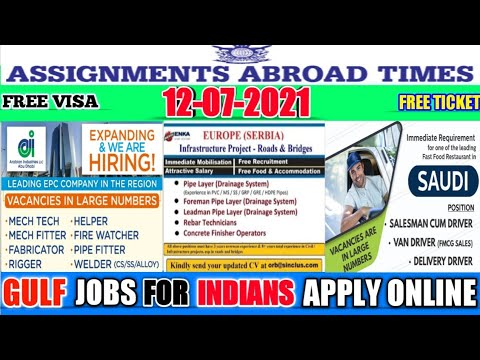 Video For Abroad And Gulf Jobs