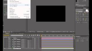 Как сохранить видео в After Effects