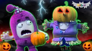 Oddbods | POGO TRICKS | Halloween Cartoons For Kids