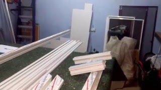Делаем пластиковые окна  дома.(Изготовление пластиковых окон в гараже., 2016-03-29T09:55:10.000Z)