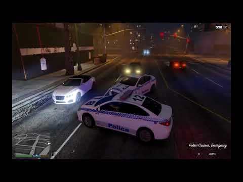 GTA V - New South Wales Police Force Patrol #1