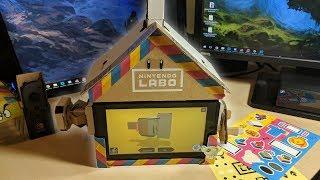 Ich bastel mir ein Haus | Nintendo Labo  「Fast Daily Vlog」