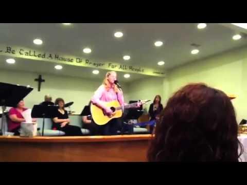 Andi Woods sings Background by Lecrae