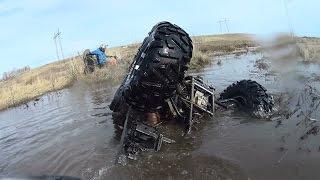 Ну Вот И Я Утопил Свой Квадроцикл Сf Moto X8 .