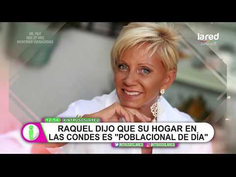 """""""Poblacional de día"""": los dichos de Raquel Argandoña sobre su hogar en Las Condes"""