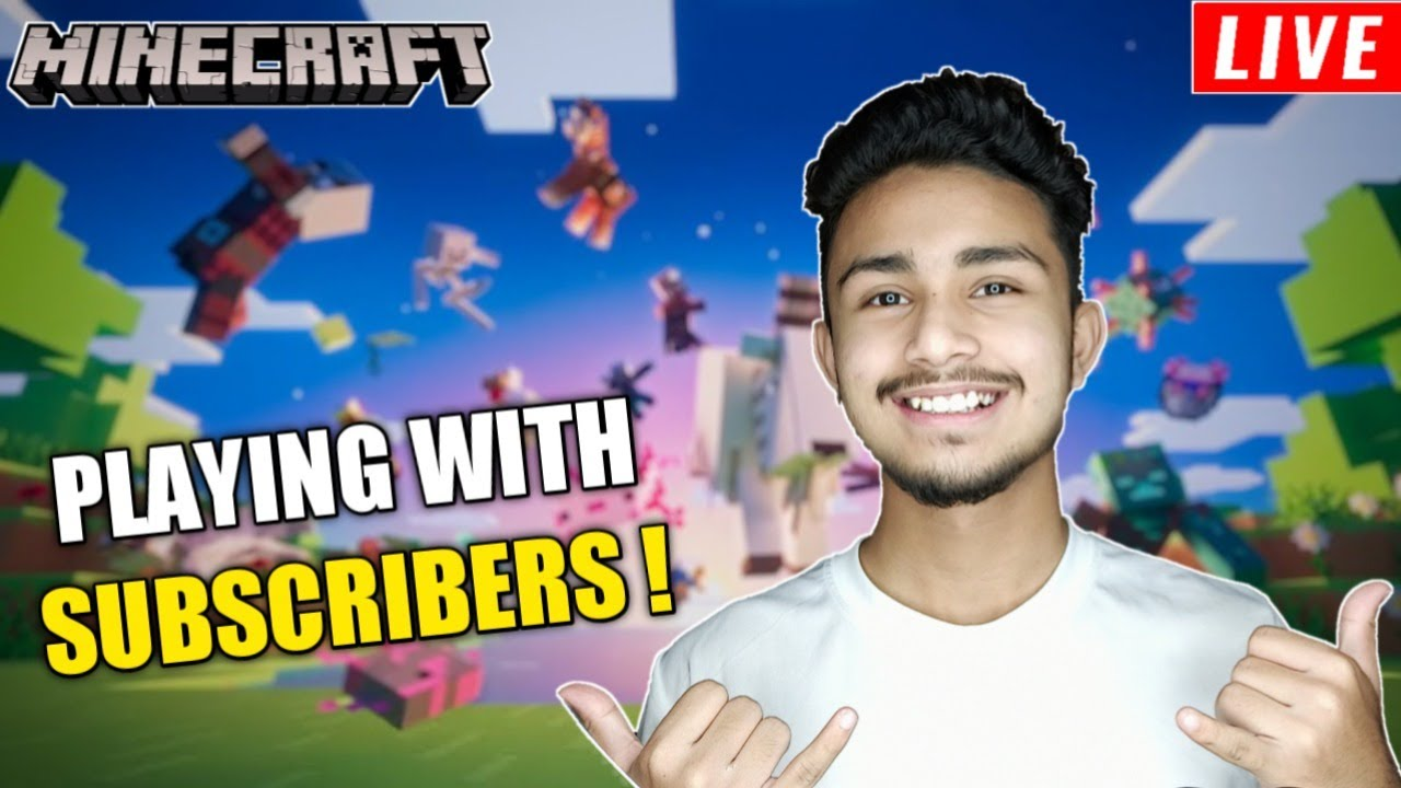 FIRST TIME PLAYING WITH MY SUBSCRIBERS || SANSKARI GAMER