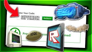 *SEPTEMBER* ALL WORKING PROMO CODES ON ROBLOX 2019| ROBLOX PROMO CODES (NOT EXPIRED!)