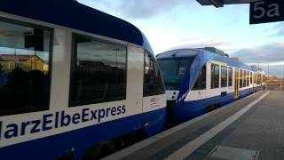 Harz Elbe Express in Halberstadt
