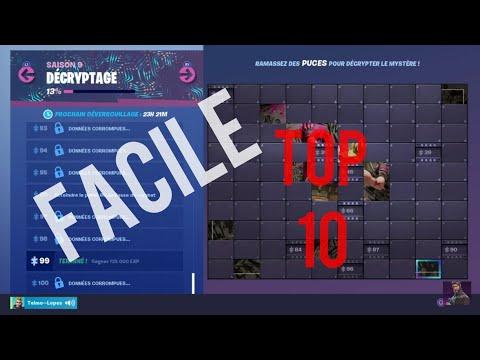 fortnite-:-comment-faire-des-top-10-facilement,-défis-décryptage-saison-9