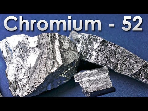 Chromium - The HARDEST METAL ON EARTH!