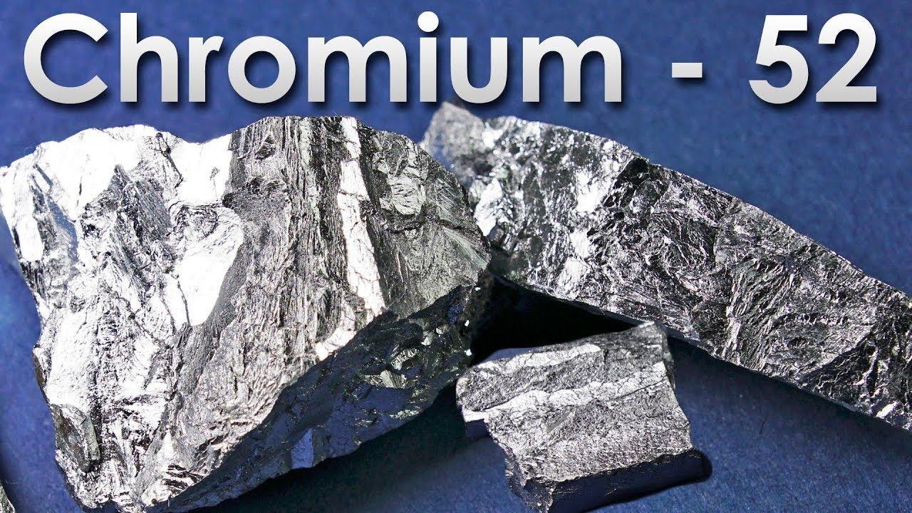 chromium the hardest metal
