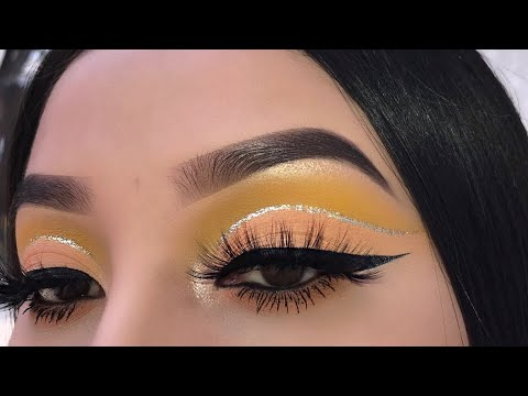 Peachy Yellow Makeup Tutorial | Jocy Reyes