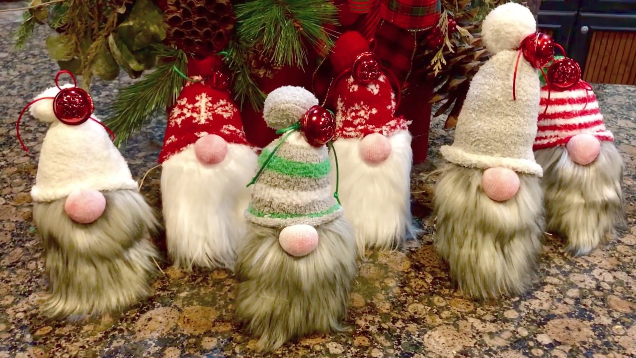 How to make cute Christmas Gnomes in 15min!!!