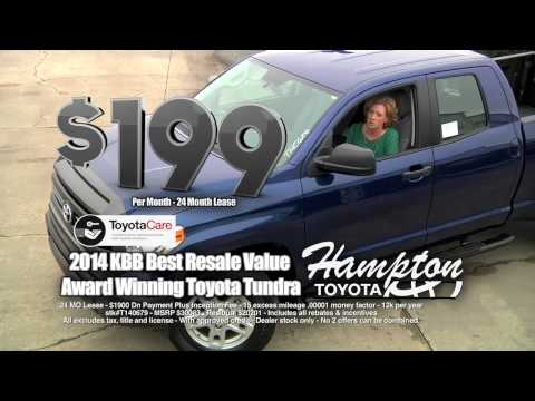 2014 Toyota Tundra Lease For Only $199 Per Month