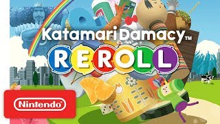 Katamari Damacy REROLL - Launch Trailer - Nintendo Switch