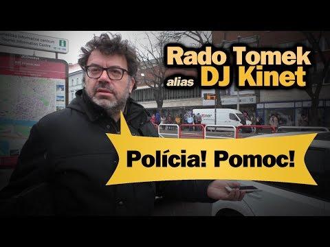 Polícia! Pomoc! Rado Tomek alias DJ Kinet podpísal zákaz vstupu Daňa do parlamentu #10.44