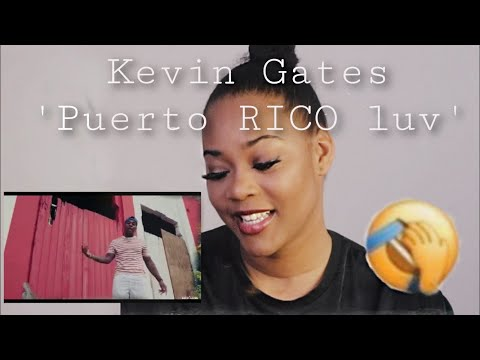 Kevin Gates 'Puerto rico luv' reaction video! HIS Puerto Rican ACCENT SOUNDS SO HARD With it..