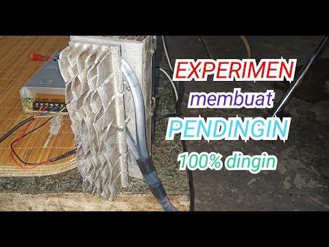 EXPERIMEN Cara Membuat Pendingin 100%dingin