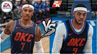 5 Things NBA 2k18 does BETTER than NBA Live 18!