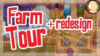 Stardew Valley Fixer Upper - Farm Tour and Redesign
