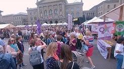 Frauenstreik in Bern - Eine Stipp-Visite