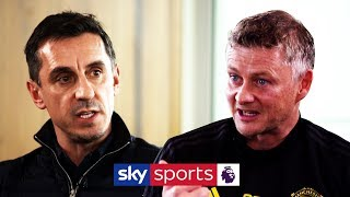 Gary Neville interviews Ole Gunnar Solskjær | New signings, Man Utd's defeats & board support