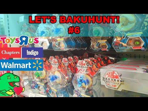 Looking For BAKUGAN RESURGENCE In Canada Let's Bakuhunt #6 @ Toys R Us , Chapters Indigo & Walmart!