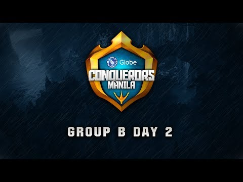Globe Conquerors Manila 2018 Group B Day 2