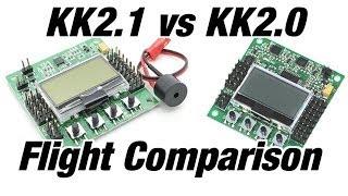 HobbyKing KK2.1 vs KK2.0 Flight Test Comparison