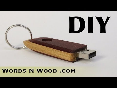 DIY Custom Wooden Thumb Drive   (WnW #98)